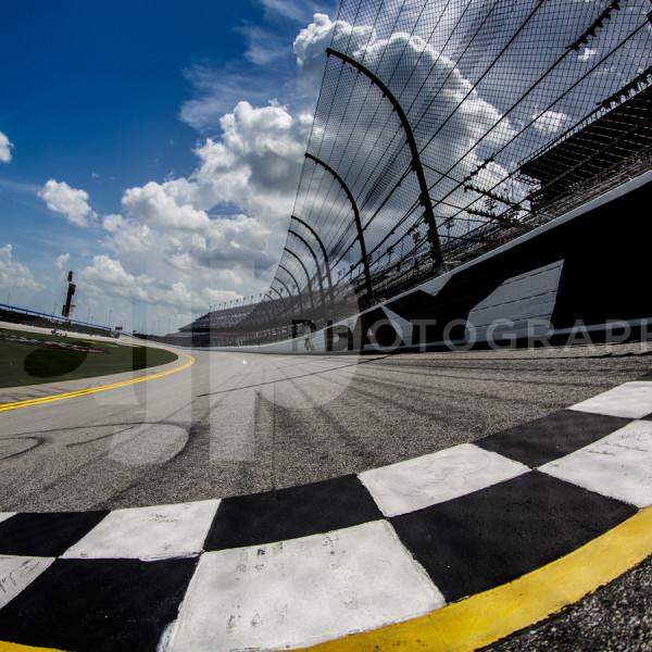 Start line at Daytona International Speedway