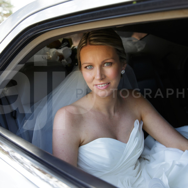 Bride (Jess) Arriving at the Church